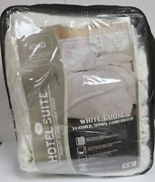 HOTEL SUITE KING SIZE FEATHER & DOWN COMFORTER WHITE