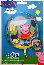 Amscan 3126101 15 x 16 pouces Peppa Cochon Orbz Feuille Ballons - Ballon Fête
