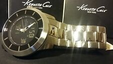 KENNETH COLE MEN'S TOUCH SCREEM BACKLIGHT DUAL TIME WATCH KC9110