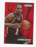 Chris Bosh 2014-15 Prizm Red Refractor /49 Miami Heat