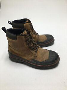 Clarks Muckers Brown Black Waterproof Hunting Duck Boots 30144 Men Sz 10