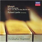Mozart Piano Concertos Nos. 5 14 & 16  Robert Levin Acd'o'AM Christopher Hogwood