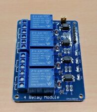 5 Volt 4 Channel Relay Module Shield for Arduino ARM PIC AVR DSP 5V DC 10 Amp