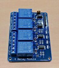 5 V 4 Canal Módulo de Relé Shield para Arduino ARM PIC AVR DSP 5 V DC 10 Amp
