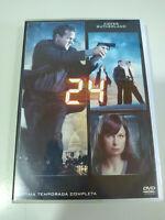 24 Settimo Stagione 7 Completa Kiefer Sutherland - 6 X DVD Spagnolo Inglese