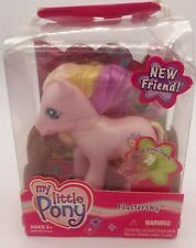 MLP My Little Pony G3 Fluttershy New In Package 2003 with Brush and Charm