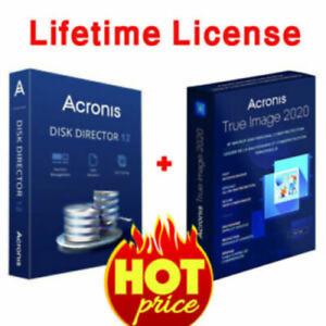 Acronis Disk Director 12 & Acronis True Image(2019) | durée de vie Key