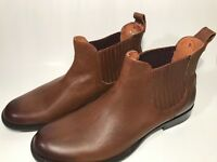 NEW Frye Men's Phillip Chelsea Boots - Cognac Leather - Size 9.5 29636