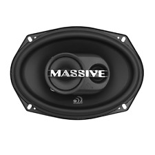 "New Massive Audio MX693 250 Watt 6x9"" 3-Way Coaxial Car Audio Speakers 6"" x 9"""