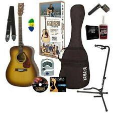 Yamaha GigMaker Acoustic Guitar Starter Pack - Sunburst GUITAR ESSENTIALS BUNDLE