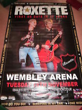ROXETTE TOUR POSTER. FULL BILLBOARD SIZE. (MUST HAVE BEEN LOVE)