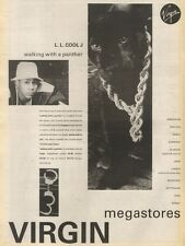 1/7/89Pgn20 Advert: L.l Cool J 'walking With A Panther' Def Jam Album 15x11