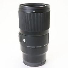 SIGMA Art 70mm F/2.8 DG MACRO (for SONY E mount) -Near Mint- #259