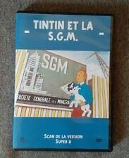 TINTIN ET LA SGM DVD + BD