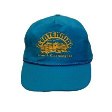 Centennial Gravel & Excavating LTD Baseball Truckers Dad Hat Cap