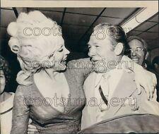 1972 Los Angeles Mayor Sam Yorty With Stripper Liz Renay Press Photo