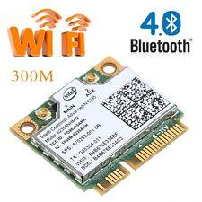 Bluetooth 4.0 2.4/5G 300M WiFi Wireless Half Mini PCI-E Card For Intel 6235ANHMW