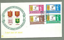 JERSEY QEII 1969 - FDC - INAUGURATION OF JERSEY POSTAL SERVICES - Shs Jersey