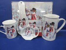 Snowman Family Tableware Snowman Christmas Tableware - NEW
