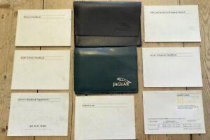 DRIVERS HANDBOOK SET / OWNERS MANUAL PACK - Jaguar XJ8 XJR X308 2000-2002 #3010