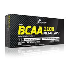 Olimp BCAA 1100 Mega Caps 120 Kapseln Aminosäuren Leucin Isoleucin Valin