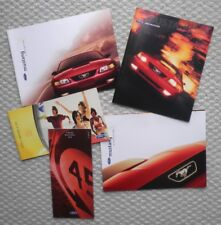Big Ford MUSTANG Brochure COLLECTION:1999,2000,2001,2002,GT,POSTER's,Convertible