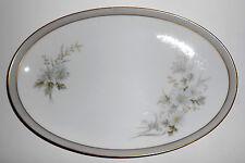 Noritake Porcelain China Michelle 6021 w/Gold Platter