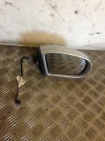 2004 W203 MERCEDES BENZ C CLASS C270 SILVER INDICATOR TYPE DRIVER WING MIRROR