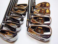 9pc MARUMAN Majesty Prestigio Super 7 R-flex Hybrid IRONS SET Golf Clubs 777