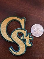"CSU Colorado State Rams Vintage Embroidered Iron on Patch (NOS) 3"" x 3"" A1 NICE"
