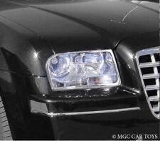 Chrysler 300 2005-2010 Head Light Headlight Chrome Trim Set (trims only)