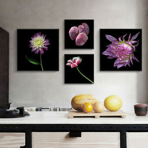 Gorgeous Pink Lotus Leaf Flower Art Canvas Print Poster Picture Wall Home Decor