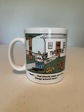 Vintage The Far Side THE MUG Now That Should Clear Up A Few 1987 Gary Larson Cup