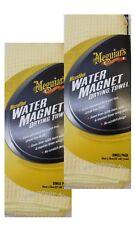 2 x Meguiar's WATER MAGNET DRYING TOWEL Meguiars Autopflege (16,67 EUR pro )