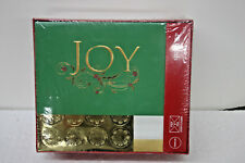 Paper Magic 40 Christmas Holiday Greeting Cards and Envelopes  Peel and Stick