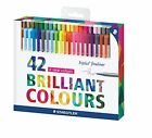 Staedtler 0.3 mm Triplus Fineliner Superfine Point Pens - Assorted Pack of 42