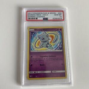 Pokemon Shining Mew Shining legends 40/73 PSA 10