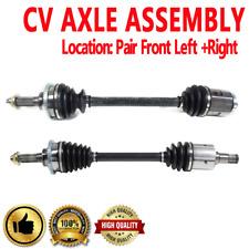Pair Front CV Axle Drive Shaft for KIA SEDONA 02-05