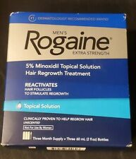 Men's Rogaine Extra Strength Topical Solution 3 Mo. Supply Unscented EXP 12/2022