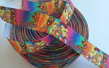 """Scooby and Friends inspired 1"""" Grosgrain Ribbon - By The Yard - USA Seller"""