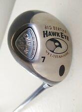 "Callaway Hawk Eye VFT 7 Fairway Wood Titanium - Sys 60 R-Flex Graphite - RH  42"""