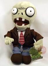 PLANTS VS ZOMBIES Regular Zombie Plush Doll Figure NEW *  7-Inch soft toy