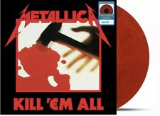 METALLICA - KILL'EM ALL; LE, Exclusive Fire Engine Red Vinyl - ON HAND SHIPS NOW