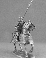 Metal Toy Soldiers Medieval 1/32 Heavy Mounted Mongolian Knight Cavalry 54mm