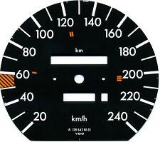 VDO Tachoscheibe Blatt 240km/h für Mercedes-Benz W 126 C 126