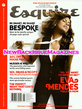 UK Esquire 1/09,Eva Mendes,Marc Forster,British,Joanna Page,January 2009,NEW