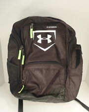 Under Armour Storm 1 Black and Lime Green Backpack