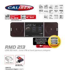 Autoradio Usb / Sd / Aux Fm Tuner, Avec Haut Parleurs Intégrés 12/24v RMD213