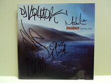 INCUBUS: MORNING VIEW – CD, HAND SIGNED / AUTOGRAPHED / AUTOGRAPH