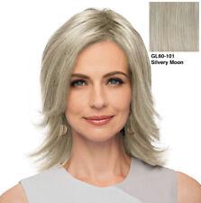Eva Gabor Top Perfect Hairpiece - GL 60-101 Silvery Moon by HAIRUWEAR
